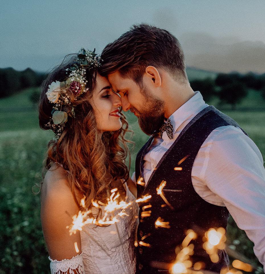 bride and groom queenston mile vineyard wedding